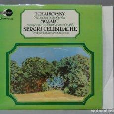 Discos de vinilo: LP. TCHAIKOVSKY. NUTCRACKER SUITE, OP. 71A. MOZART. SYMPHONY NO. 25, IN G MINOR, OP. 183. Lote 289740038