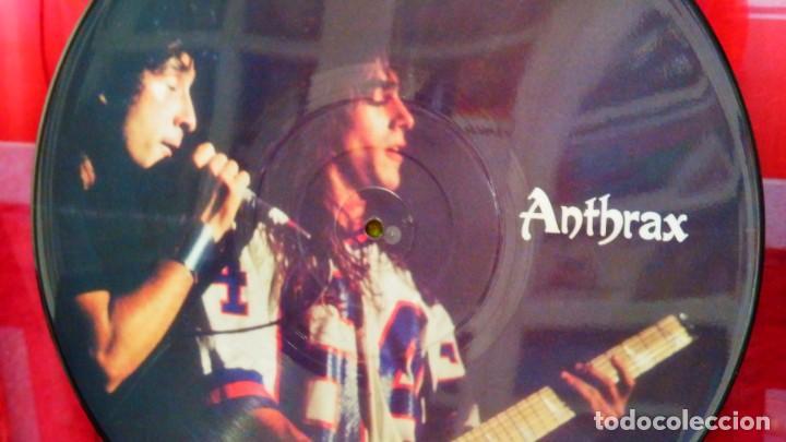 Discos de vinilo: ANTHRAX * LP Vinilo Limited Edition Interview Picture Disc * UK 1987 - Foto 3 - 289740988
