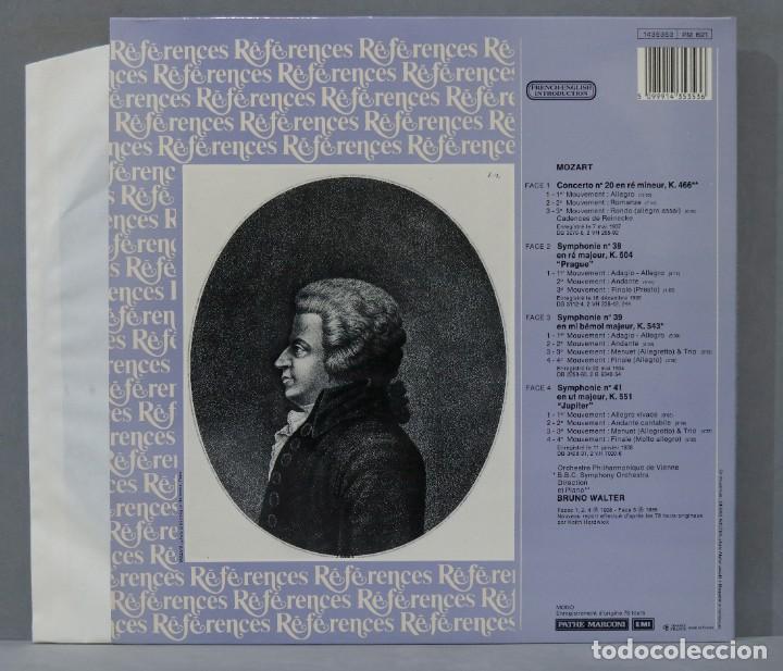 "Discos de vinilo: 2 LP. Walter. Mozart Concerto No 20. Symphonies No 38 ""Prague"". No 39 Et No 41 ""Jupiter"" - Foto 2 - 289741003"