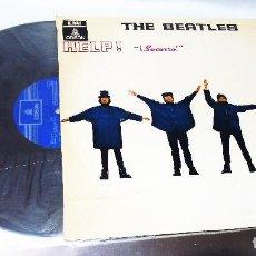 Discos de vinilo: THE BEATLES ---- HELP-- L.P. MONO MOCL 136 --J 060-04.257 -- VINILO MINT M / FUNDA EX. Lote 289745268