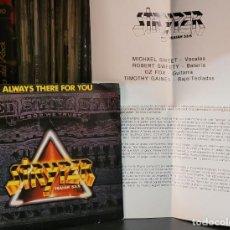 Discos de vinilo: STRYPER ALWAYS THERE FOR YOU - HOJA PROMOCIONAL (VER FOTOS). Lote 289745993