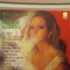 Discos de vinilo: VINILO ARTE Y SEÑORIO DE MARUJA LOZANO. Lote 289746308