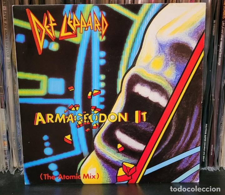DEF LEPPARD ARMAGEDDON IT (THE ATOMIC MIX) SINGLE - EXCELENTE ESTADO VER FOTOS (Música - Discos - Singles Vinilo - Heavy - Metal)