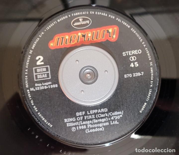 Discos de vinilo: DEF LEPPARD ARMAGEDDON IT (THE ATOMIC MIX) SINGLE - EXCELENTE ESTADO VER FOTOS - Foto 4 - 289746743
