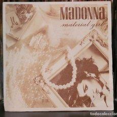 Discos de vinilo: MADONNA MATERIAL GIRL - SINGLE. Lote 289748373