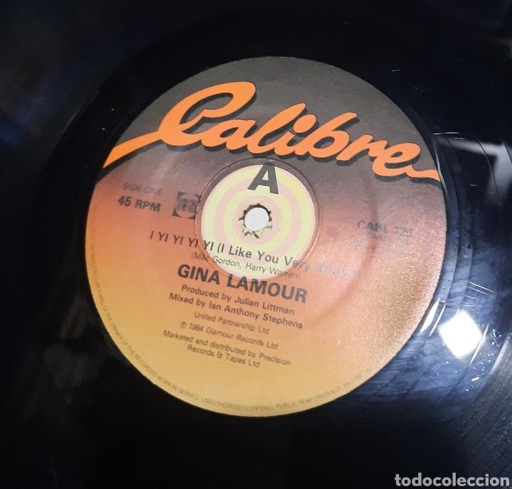 Discos de vinilo: Gina Lamour – I Yi Yi Yi Yi (I Like You Very Much). EDICION UK - Foto 2 - 289748958