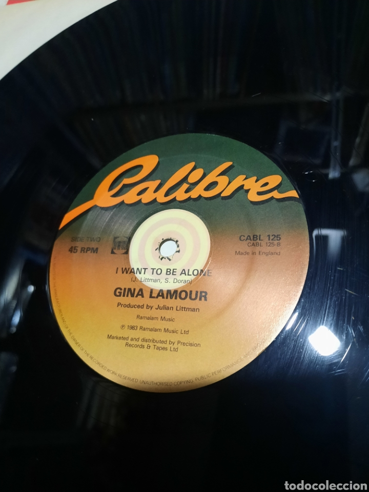 Discos de vinilo: Gina Lamour – I Yi Yi Yi Yi (I Like You Very Much). EDICION UK - Foto 4 - 289748958