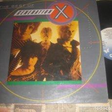Discos de vinilo: GENERATION X THE BEST (CHRYSALIS -1985) OG ESPAÑA EXCELENTE CONDICION. Lote 289749028