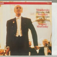 """Discos de vinil: LP. """"NUTCRAKER"""" SUITE. """"ROMEO AND JULIET"""" SUITE NO. 2. TCHAIKOVSKY. PROKOFIEV. Lote 289749793"""