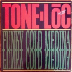 "Discos de vinilo: TONE LOC : FUNKY COLD MEDINA [ESP 1989] 12"". Lote 289751778"