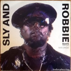 "Discos de vinilo: SLY & ROBBIE : BOOPS (HERE TO GO) [ESP 1987] 12"". Lote 289753308"
