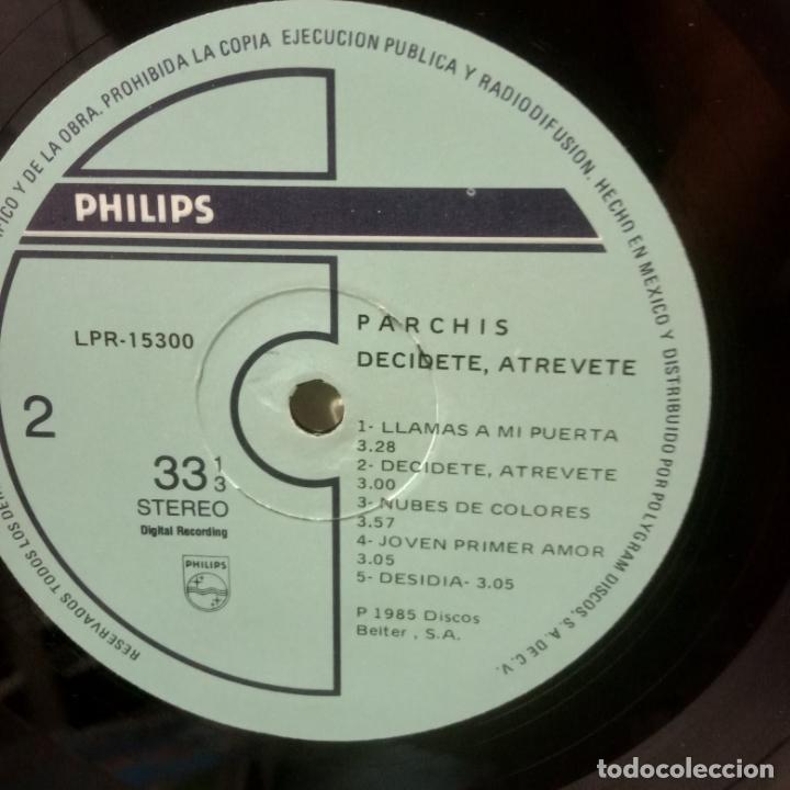Discos de vinilo: parchis -decidete , atrevete -lp-mexico - Foto 2 - 289758093