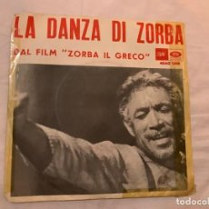 Discos de vinilo: DISCO VINILO LA DANZA DI ZORBA PELICULA ZORBA IL GRECO CLAUDE CIARI. Lote 289760653