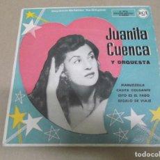 Discos de vinilo: JUANITA CUENCA (EP) MARUZZELLA AÑO – 1958. Lote 289761028