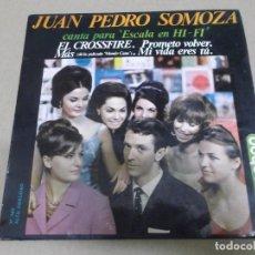 Discos de vinilo: JUAN PEDRO SOMOZA (EP) EL CROSSFIRE AÑO – 1964. Lote 289761113