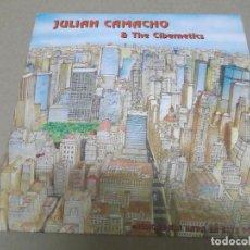Discos de vinilo: JULIAN CAMACHO & THE CIBERNETICS (SINGLE) NUNCA PASA NADA EN ESTE PUEBLO AÑO – 1990. Lote 289762378