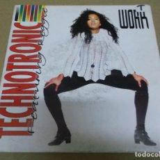 Discos de vinilo: TECHNOTRONIC (SINGLE) WORK AÑO – 1991. Lote 289762938