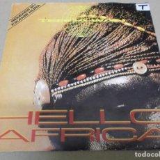 Discos de vinilo: TERRA WAN (SINGLE) HELLO AFRIKA AÑO – 1991 - PROMOCIONAL. Lote 289763038