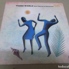 Discos de vinilo: THIRD WORLD (SINGLE) NOW THAT WE'VE FOUND LOVE AÑO – 1978. Lote 289764143