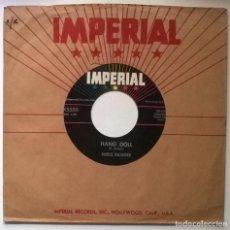 Discos de vinilo: MERLE KILGORE & THE 4 B'S. HANG DOLL/ TOM DOOLEY JR. IMPERIAL, USA 1958 SINGLE. Lote 289766083