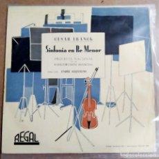 Discos de vinilo: LP MUSICA CLASICA (EN BREVE DESCRIPCION COMPLETA). Lote 289766833