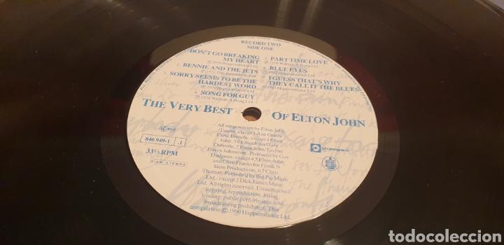 Discos de vinilo: ELTON JOHN THE VERY BEST OF LP ELTON JOHN - Foto 5 - 289767723