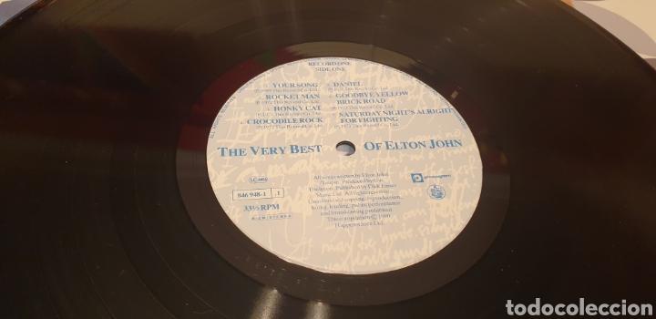 Discos de vinilo: ELTON JOHN THE VERY BEST OF LP ELTON JOHN - Foto 6 - 289767723