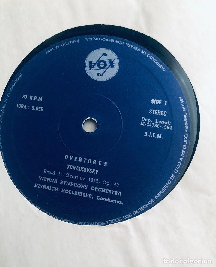 Discos de vinilo: Tchaikovsky, Borodin, Brahms, Dvorak, Liszt, Smetana, Khachaturian. 2 LPs. Discos Marfer. 1982. - Foto 4 - 289767798