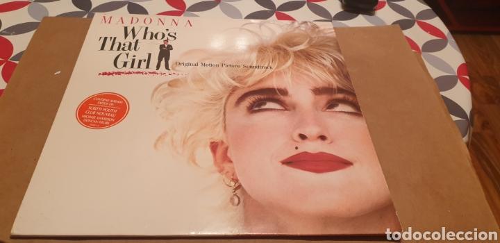 LP'S MADONNA WHO'S THAT GIRL (Música - Discos - LP Vinilo - Bandas Sonoras y Música de Actores )
