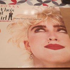 Discos de vinilo: LP'S MADONNA WHO'S THAT GIRL. Lote 289768188