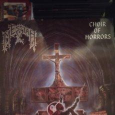 Discos de vinilo: MESSIAH. CHOIR OF HORRORS. LP.. Lote 289768793