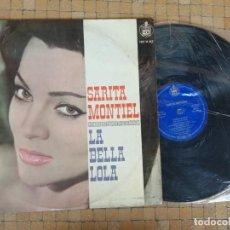 Discos de vinilo: LA BELLA LOLA - SARITA MONTIEL. LP HISPAVOX 1962 DISCO VINILO EN PERFECTO ESTADO. Lote 289769143