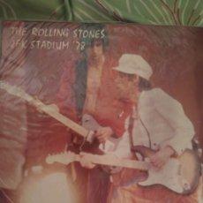 Discos de vinilo: THE ROLLING STONES. J.F.K. STADIUM 78. DOBLE LP.. Lote 289769933