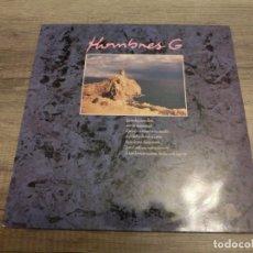 Discos de vinilo: HOMBRES G - HUELLAS EN LA BAJAMAR / TEMBLANDO. Lote 289784883
