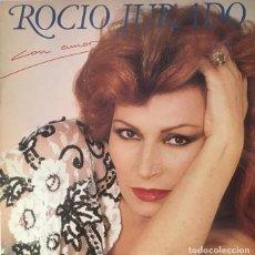 Discos de vinilo: ROCIO JURADO - CON AMOR - LP. Lote 289786188