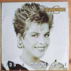 Discos de vinilo: C.C. CATCH - LIKE A HURRICANE (LP) 1987. Lote 289797973