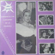 Discos de vinilo: SARA MONTIEL LP SELLO HISPAVOX EDITADO EN CHILE DE LA PELÍCULA LA VIOLETERA.... Lote 289799928
