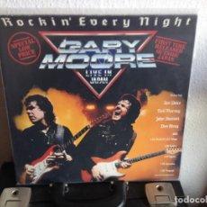 Discos de vinilo: GARY MOORE - LIVE IN JAPAN LP GERMANY 1986 VINILO NUEVO SIN USAR. NM-NM. Lote 289800338