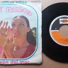 Discos de vinil: BETTY MISSIEGO / NO SOMOS NADA / SINGLE 7 PULGADAS. Lote 289800503