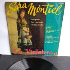 Discos de vinilo: SARA MONTIEL, LA VIOLETERA. Lote 289801653