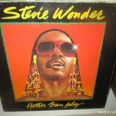 Discos de vinilo: LP STEVE WONDER - HOTTER THAN JULY LP - 1981. Lote 289802668
