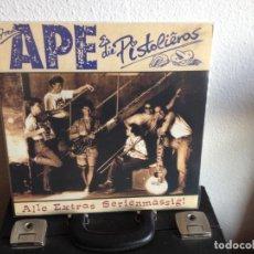 Discos de vinilo: FRED APE & DIE PISTOLIEROS - ALLE EXTRAS SERIENMÄSSIG / LP GERMAY 1989 VINILO NUEVO SIN USAR. NM/NM. Lote 289803768