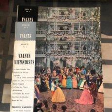 Discos de vinilo: VALSES VIENNOISES. MARCEL PAGNOUL Y SU GRAN ORQUESTA. Lote 289805878