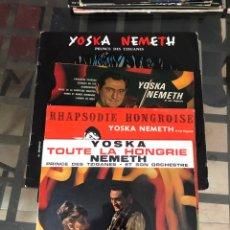 Discos de vinilo: YOSKA NEMETH. LOTE 4 VINILOS.. Lote 289806798