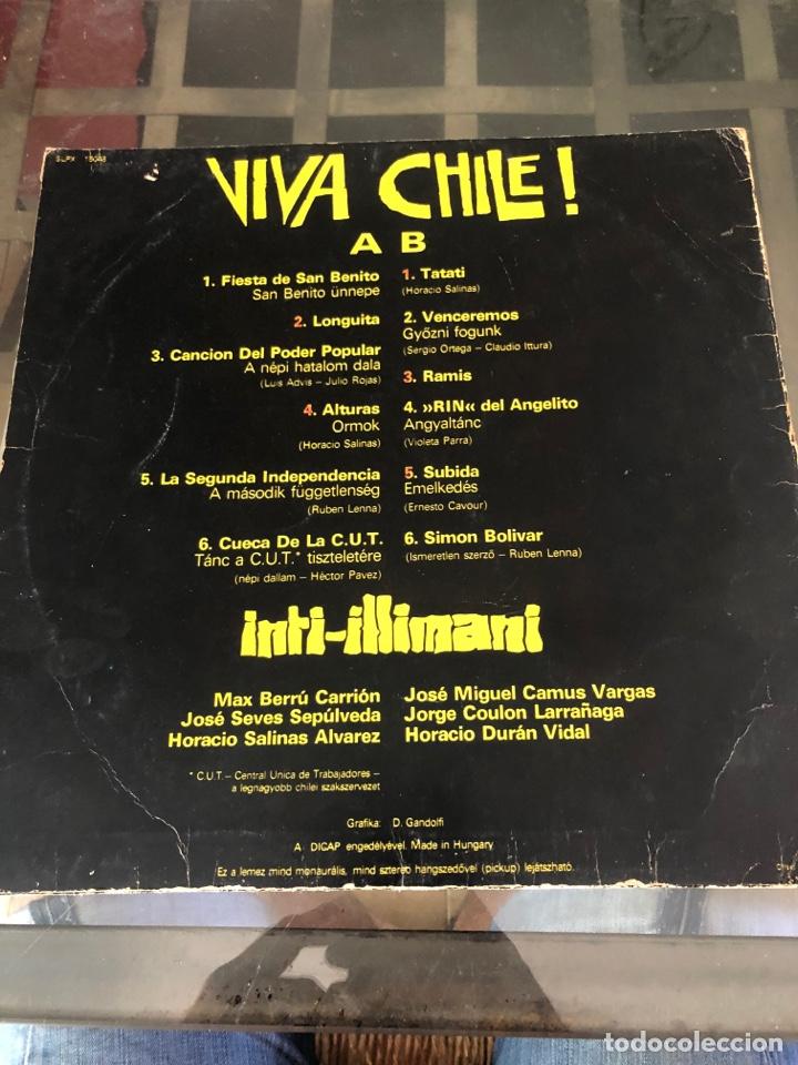 Discos de vinilo: Viva Chile. Inti-illimani - Foto 2 - 289807193