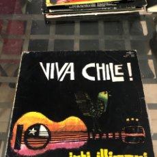 Discos de vinilo: VIVA CHILE. INTI-ILLIMANI. Lote 289807193