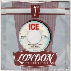Discos de vinilo: EDDY GRANT - I DON'T WANNA DANCE + ACAPELLA. SINGLE. Lote 289807653