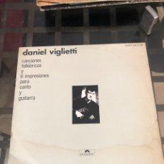Discos de vinilo: DANIEL VIGLIETTI. Lote 289808193