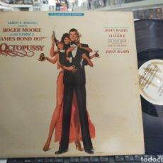 Discos de vinilo: JAMES BOND 007 LP OCTOPUSSY B.S.O. U.S.A. 1983. Lote 289810103