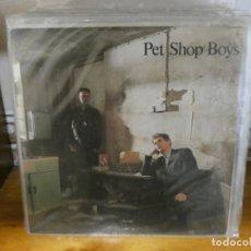 Discos de vinilo: DISCO 7 PULGADAS SINGLE PET SHOP BOYS IT´S A SIN. Lote 289811973